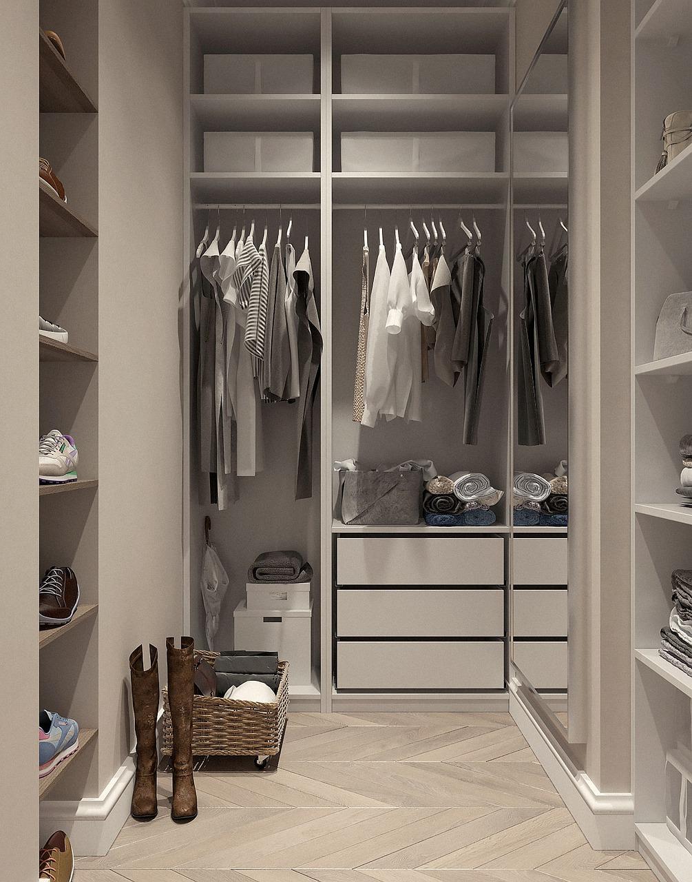 Garderoba w sypialni - funkcjonalność i wygoda